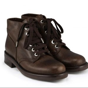 Rare Chanel combat boots size 40